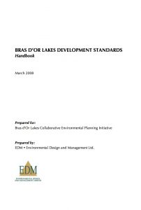 Bras dOr Development Standards_Handbook
