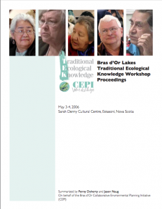 2006-05-03-cepi-traditional-ecological-knowledge-workshop-proceedings-pdf
