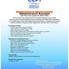 CEPI Admin Assistant